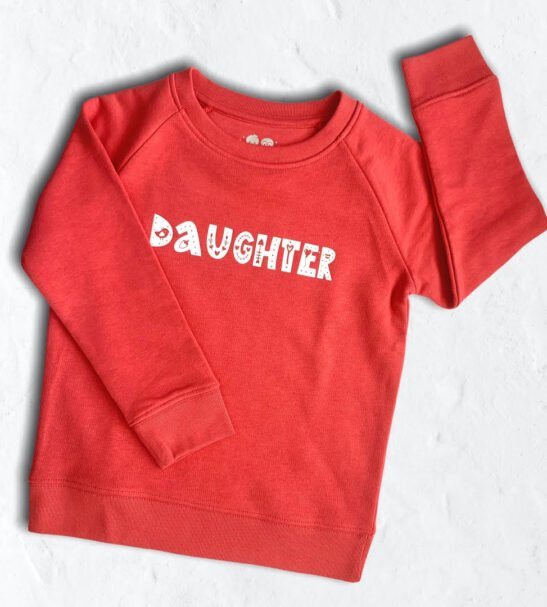 'Mother' & 'Daughter' Matching Jumper Set by Squidge & Smudge at Nurture Collective