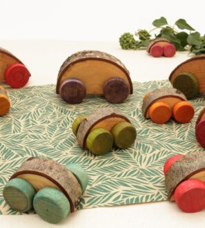 Traditional Wooden Toy Cars from Love Heartwood at Nurture Collective