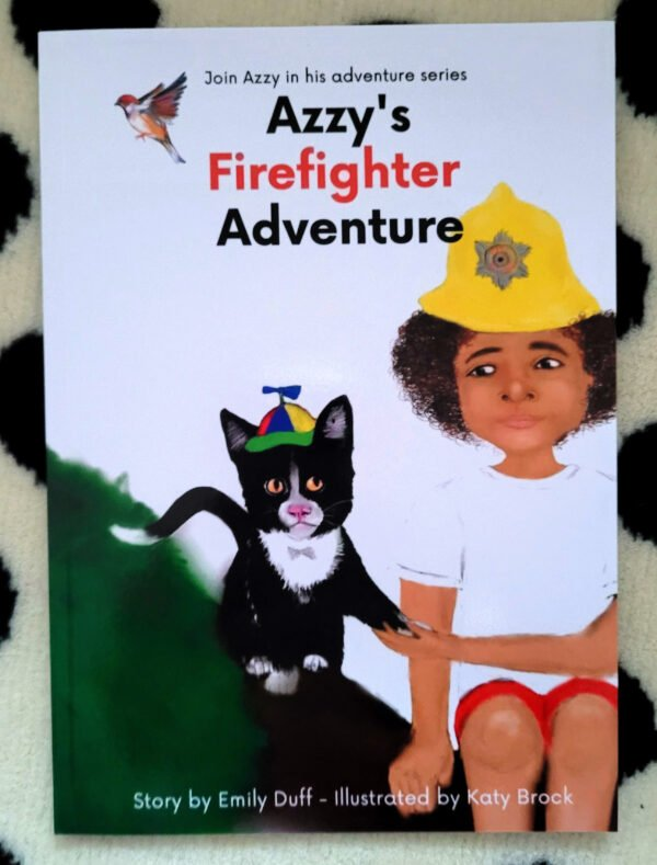 Azzys Firefighter Adventure Story Book at Nurture Collective
