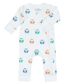 Campervan Baby grow by Little Leaf Organics at Nurture Collective