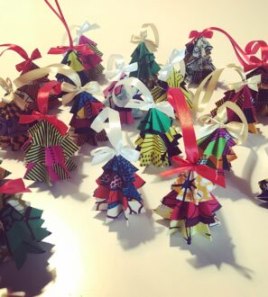 Handmade Christmas tree Decoration by Amamama at Nurture Collective