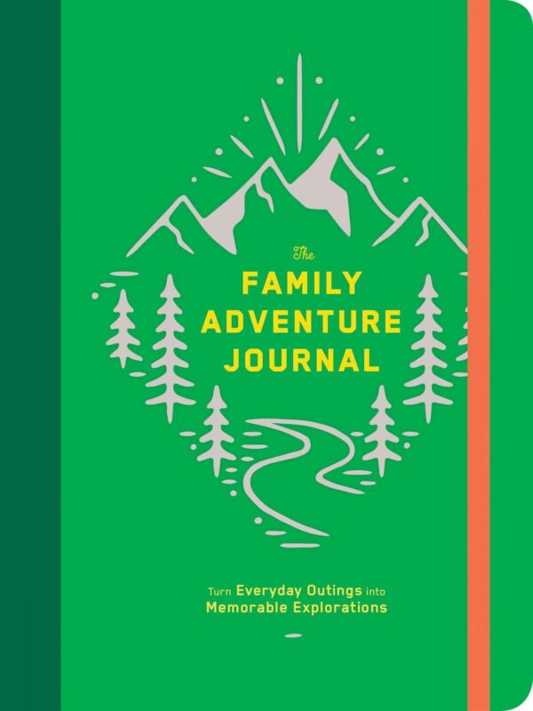 Family Adventure Adult Journal by Paper Party Bags at Nurture Collective