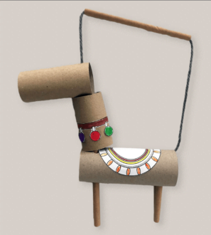 Llama Charmer Puppet by Paper Party Bags at Nurture Collective