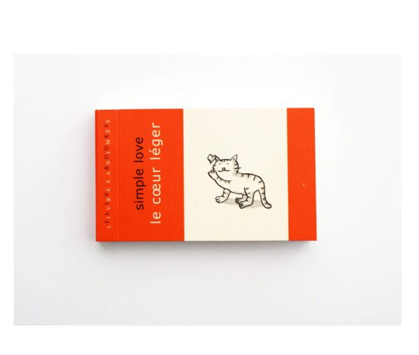 Simple Love Flip Book by Paper Party Bags at Nurture Collective