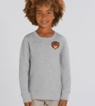Childrens Organic Cotton Hedgehog Sweatshirt by Tommy & Lottie at Nurture Collective