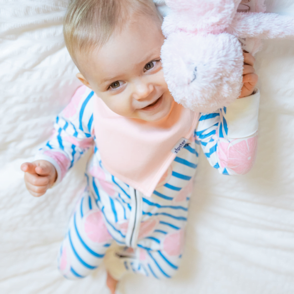Grapecute - Baby Romper in Bamboo by Zipster at Nurture Collective