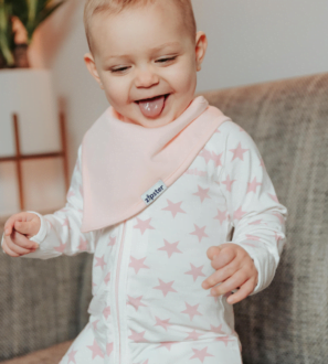 ZIPSTER Stars Babygrow Onesie at Nurture Collective