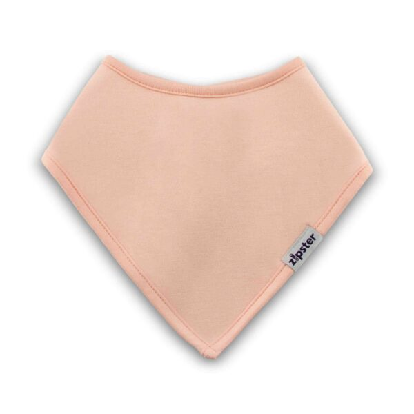 Bamboo Dribble Bib Pink by Zipster at Nurture Collective