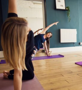 Pilates class from Do it Like a Mother Blog with Nurture Collective