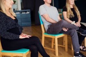 Hypnobirthing class from Do it Like a Mother Blog with Nurture Collective