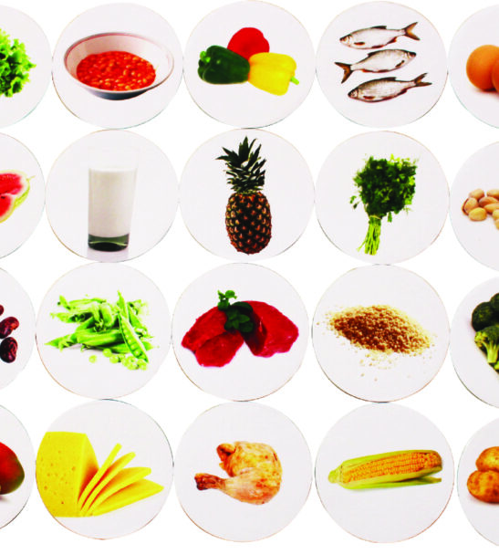 Matching Pairs Memory Game- Healthy Foods by Educational Advantage at Nurture Collective