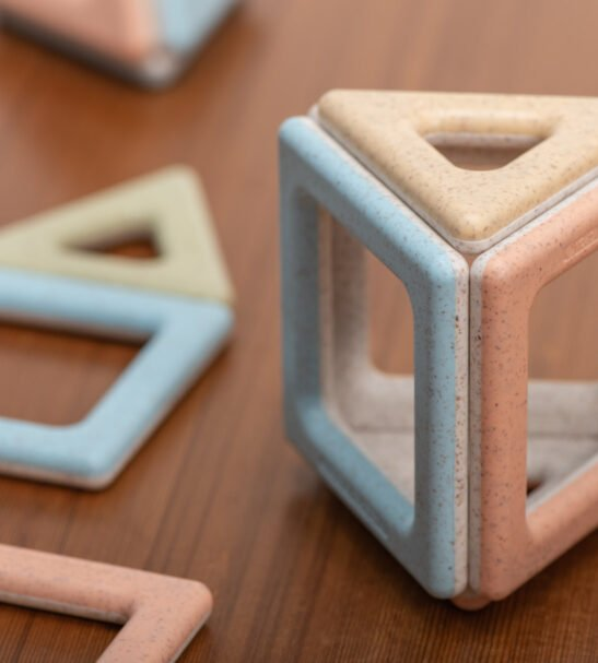 Eco Magnetic Polydron Starter Set by Educational Advantage at Nurture Collective