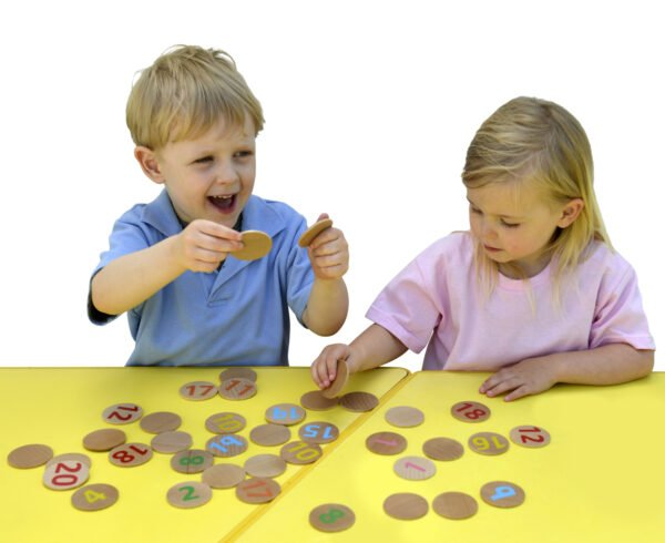 Wooden Matching number Pairs 1-20 by Educational Advantage at Nurture Collective