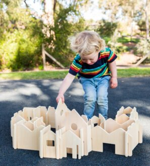 Happy Architect wooden set by Educational advantage at Nurture Collective