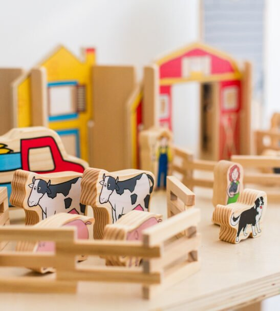 happy wooden architect farm by Educational Advantage at Nurture Collective