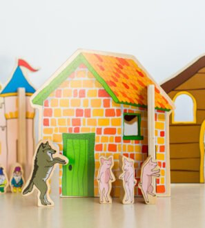 Happy Architect Fairy Tales wooden play set by Educational Advantage at Nurture Collective