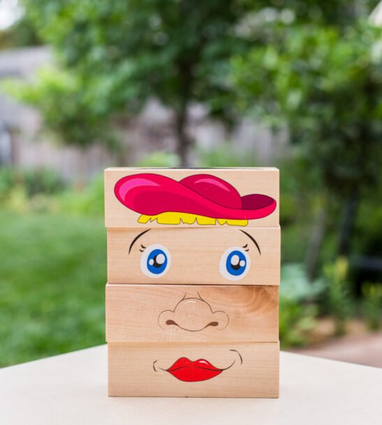 How Am I Feeling Wooden Blocks by Educational Advantage at Nurture Collective