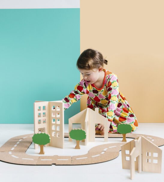 Getting About Town Wooden Play Set by Educational Advantage at Nurture Collective
