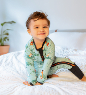 Zipster Surfer Dude Baby Grow at Nurture Collective