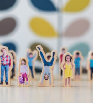 how am I feeling today wooden people by Educational Advantage at Nurture Collective