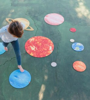 Our Solar System wooden puzzle by Educational Advantage at Nurture Collective