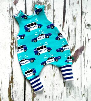 Police Romper by Maebelle & Bo at Nurture Collective