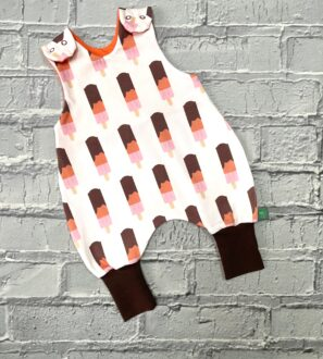 Popsicle Romper by Maebelle & Bo at Nurture Collective